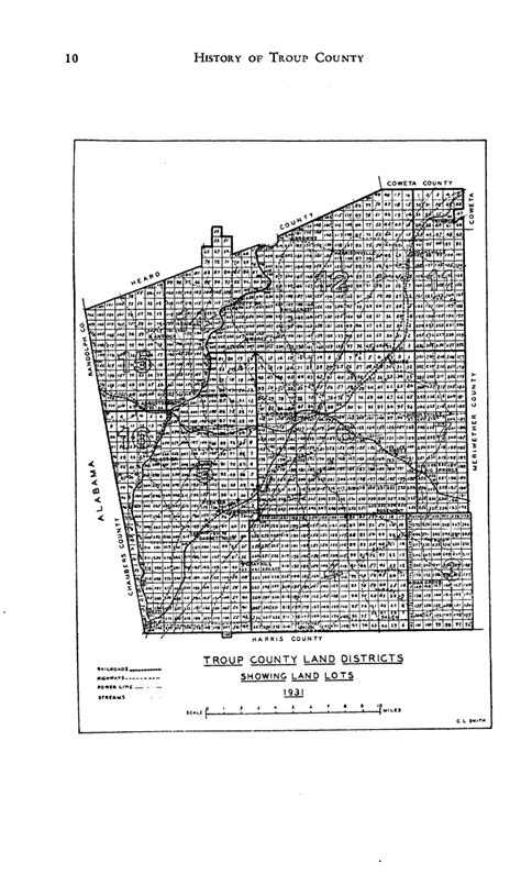 County Ga Records Troup County Land Record Genealogy