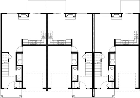 Triplex Floor Plans attractive five bedroom house floor plans 3 triplex