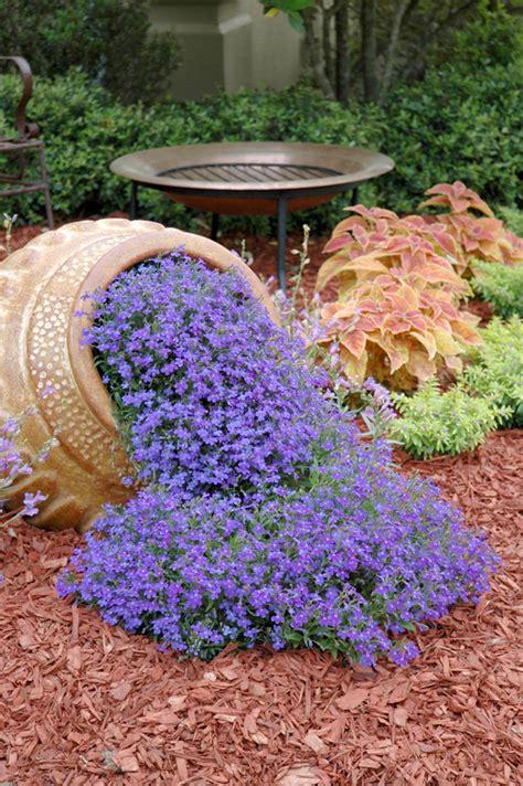 Gardens In A Flower Pot Spilling Flower Pot