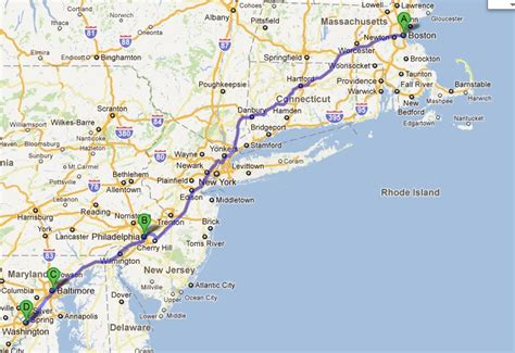 map of east coast east coast extravaganza draft magazine