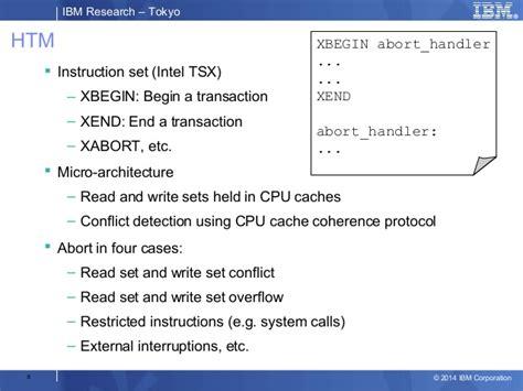 9 23crt Ruby Memo Ruby eliminating vm lock in ruby through hardware