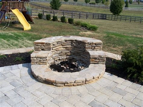 fireplace pits for outside adding a pit to your backyard rhine landscaping