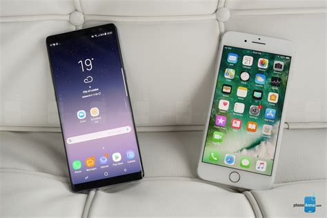 Galaxy Note 8 vs iPhone 7 Plus: first look   PhoneArena