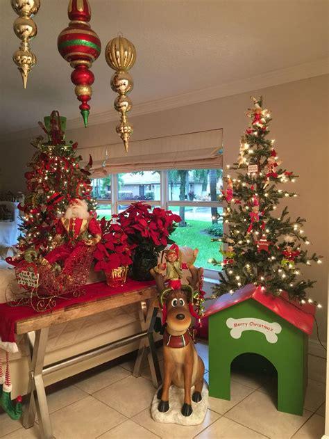 deer christmas doghouse raz elf santa elegant christmas trees indoor christmas