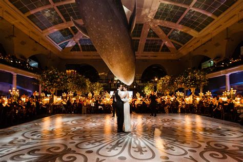 Wedding History by Elizabeth Fisch Marries Michael Dishi At The American