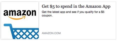 How To Get A Free 5 Dollar Amazon Gift Card - get a free 5 to spend on amazon with app and this code the thrifty couple
