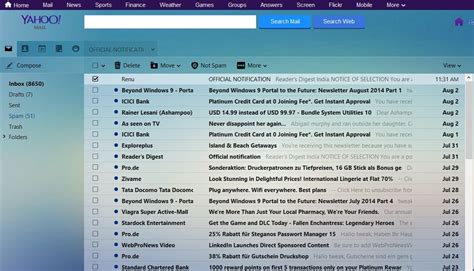 yahoo mail how to change layout customize yahoo mail with new themes