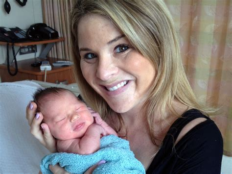 jenna bush hager welcomes daughter margaret laura moms jenna bush hager s baby story her water broke at her