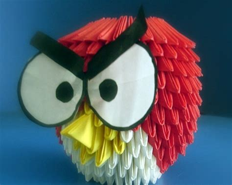 cara membuat origami 3d angry bird 27 best images about origami on pinterest pink hello