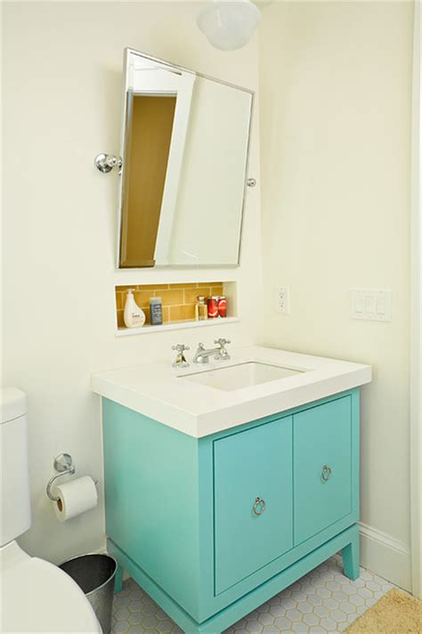 turquoise bathroom yellow and turquoise bathroom