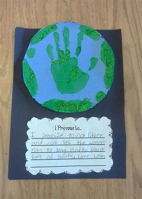 writing quot i promise to quot earth day writing prompt