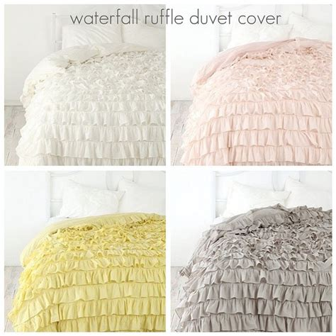 waterfall bedding 54 best images about waterfall ruffle duvet cover on