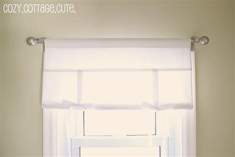 tie up curtain tutorial tutorial fabric tie up shade interior design ideas