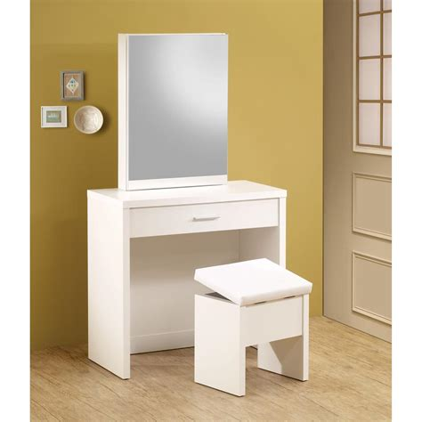 Sears Vanities by Venetian Worldwide Christa Vanity Table W Chair