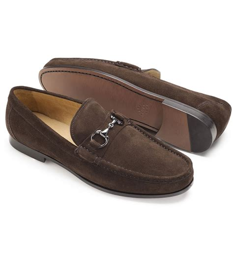 dress loafer millar suede bit dress loafer shoes