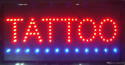 2017 sale custom neon signs led tattoo sign for the
