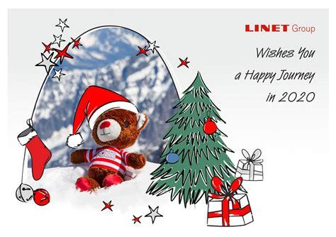 merry christmas  happy  year  linet beds mattresses