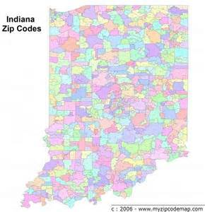 Indiana Zip Code Map by Indianapolis Zip Code Map Gallery