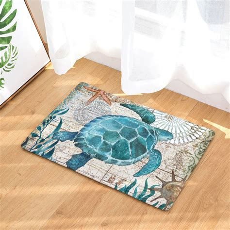 hyha marine animal waterproof anti slip floor mat