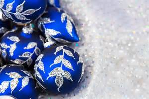 blue christmas balls free stock photo public domain pictures