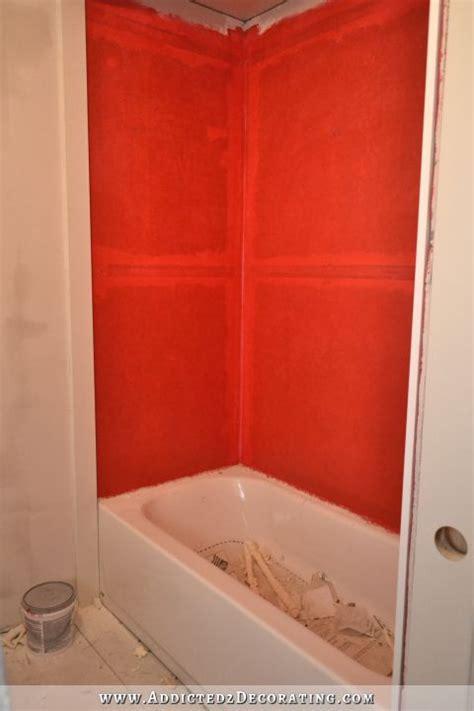 waterproofing bathtub walls bathroom remodel day 27 the emotional breakdown