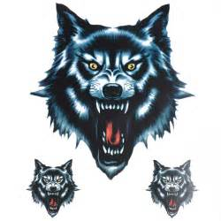 Big Head Wall Stickers big wolf head style auto truck car window wall vinyl decal sticker
