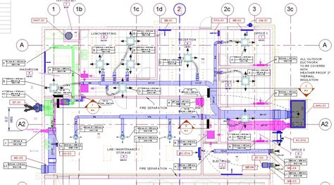 Residential Blueprints image gallery mechanical plans