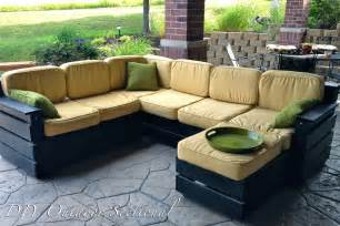 Outdoor Sectional Sofa Diy Why Spend More Diy Outdoor Sectional
