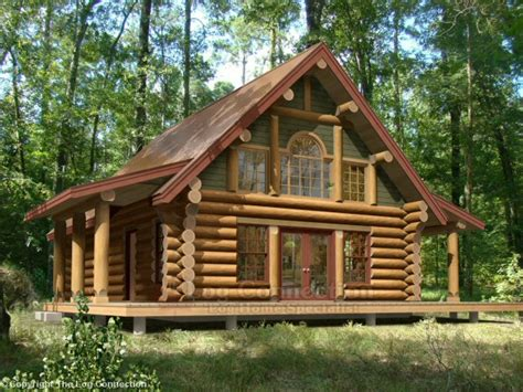 log cabin plan log house plans