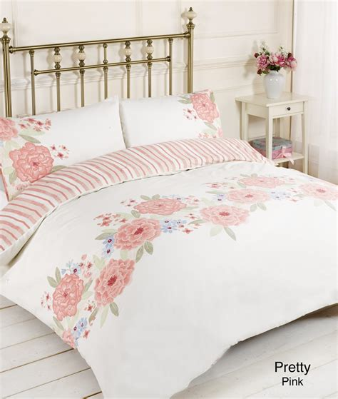 Pretty Bed Covers Duvet Quilt Cover Pillow Bed Set Pretty Pink