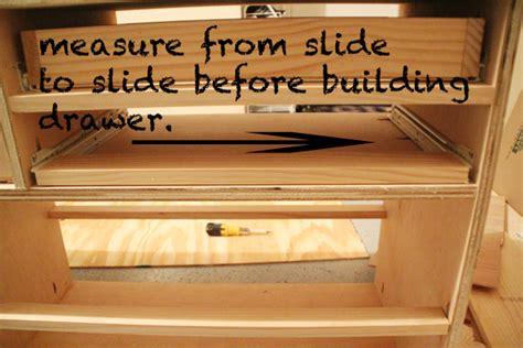 cheap drawer slides diy diy furniture dresser shanty 2 chic