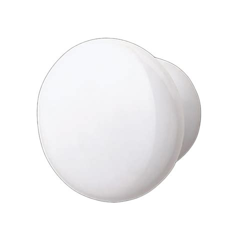 White Porcelain Cabinet Knobs by White Porcelain Plain 2 Inch Diameter Cabinet Knob White Cabinet Knob