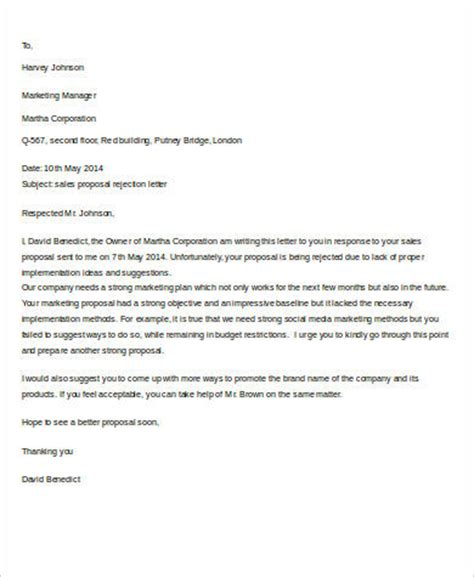 Rejection Letter Sponsorship Sle 8 Rejection Letter Sle Free Sle Exle Format