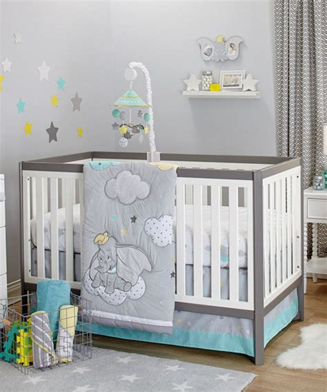 Another Great Find On Zulily Dumbo Dream Big Three Piece Disney Crib Bedding For Boys
