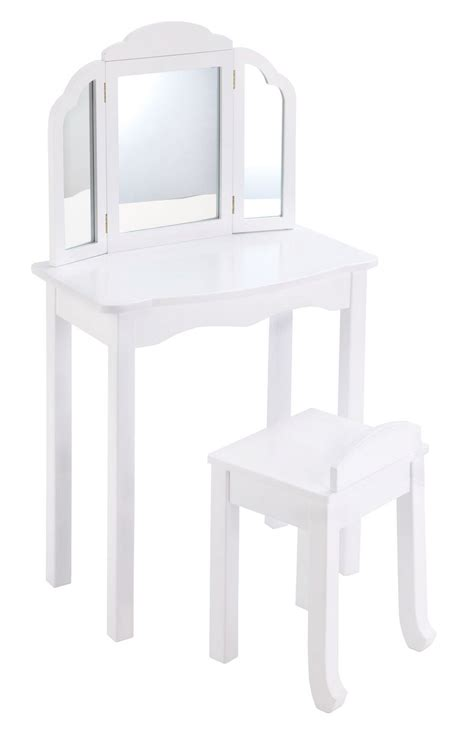 Guidecraft Expressions Vanity And Stool by Furniture Stunning Childrens Vanity Set Walmart