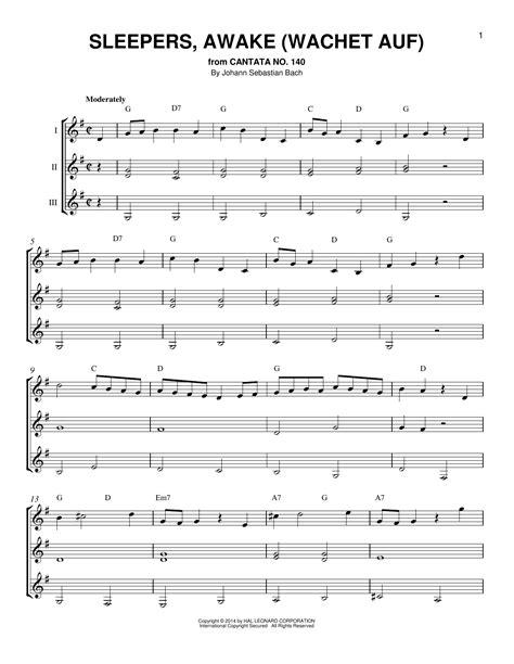 Sleepers Awake Johann Sebastian Bach by Sleepers Awake Wachet Auf By Johann Sebastian Bach