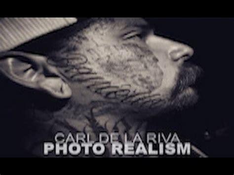 photo realism tattoo artist california carl de la riva photo realism biography california