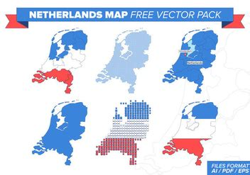 netherlands map icon netherlands icons vector free vector 399167