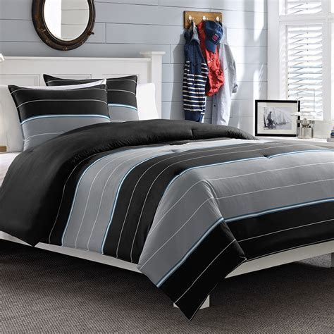 mens bedding black and grey nautical duvet covers at mens bedding style