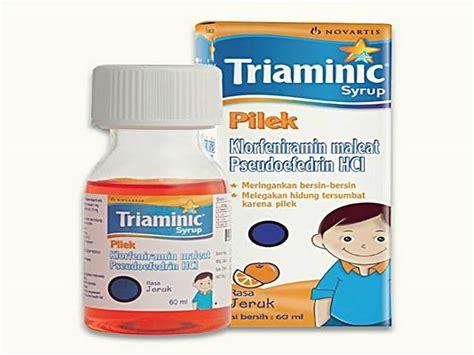 Obat Triaminic 9 obat batuk berdahak paling uh di apotik 5 obat