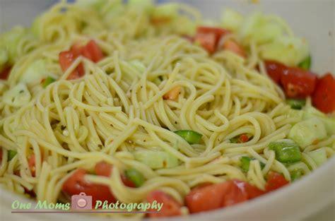pasta salad with spaghetti noodles simple summer spaghetti recipe dishmaps