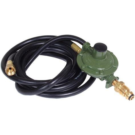 ten foot propane hose and low pressure regulator bbq guys
