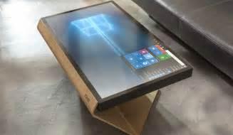 tisch computer table kineti erster couchtisch mit windows 10 f 252 r 5000