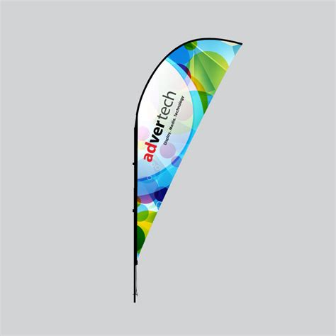 sharkfin banner template shark fin flag tear drop flag feather flag