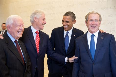 president s file four u s presidents in 2013 jpg wikimedia commons