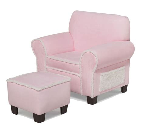 pink chair and ottoman dreamfurniture com club chair and ottoman pink