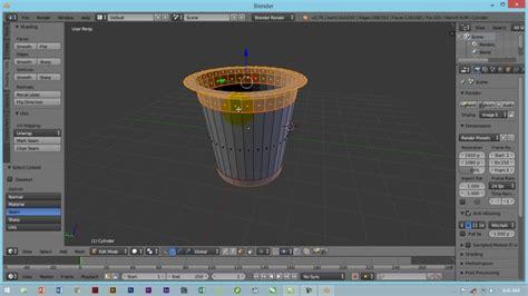 membuat video animasi dengan blender cara membuat pagar sederhana di blender 3d versi on the spot