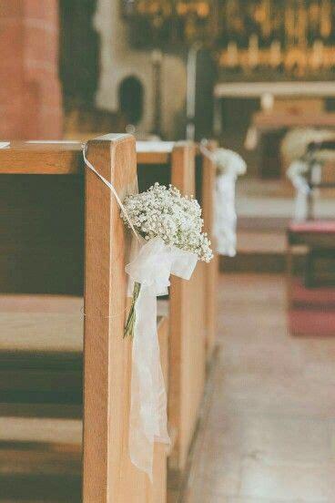 Dekoidee Hochzeit by Wedding Hochzeit Dekoidee Schleierkraut Kirche