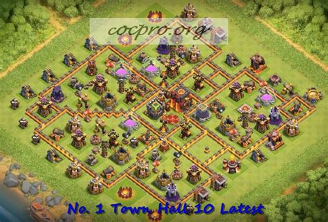 th10 layout post update latest th10 farming trophy defensing war base layouts