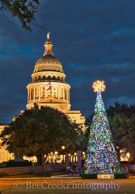 texas capitol christmas tree bee creek photo fine art